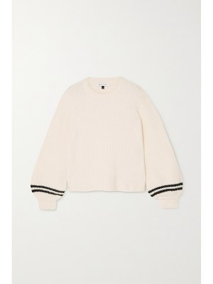 Bella Freud hunky dory ribbed-knit sweater