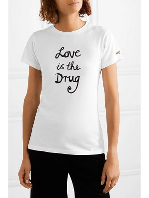 Bella Freud love is the drug printed cotton-jersey t-shirt