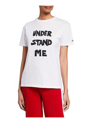 Bella Freud Understand Me Graphic T-Shirt