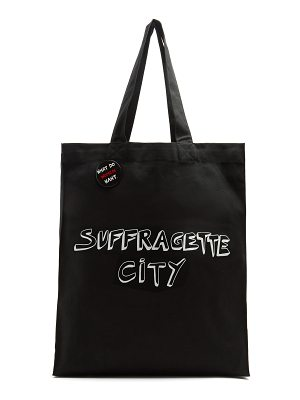 Bella Freud x Gillian Wearing Suffragette City canvas tote bag