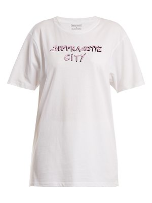 Bella Freud x Gillian Wearing Suffragette City T-shirt