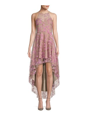 Belle Badgley Mischka Colleen Hi-Lo Dress