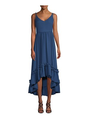 Belle Badgley Mischka Ellea High-Low Dress