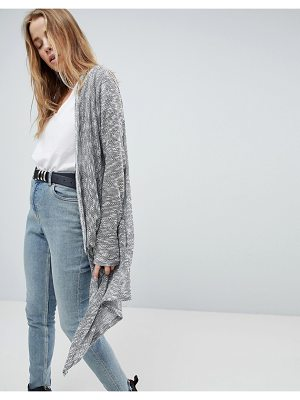 Bellfield Ania Lightweight Knitted Waterfall Cardigan