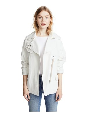 Belstaff clonmore cotton linen jacket