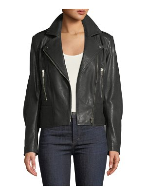 Belstaff Marving-T Lambskin Leather Moto Jacket