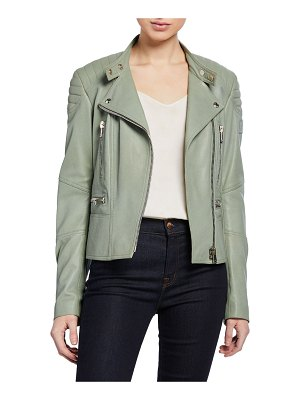Belstaff Sidney 3.0 Lamb Leather Moto Jacket
