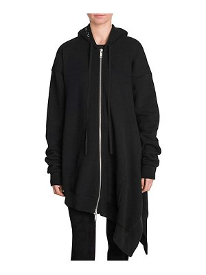 Ben Taverniti Unravel Project asymmetrical terry hoodie