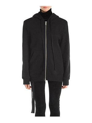 Ben Taverniti Unravel Project boxy zip-front hoodie