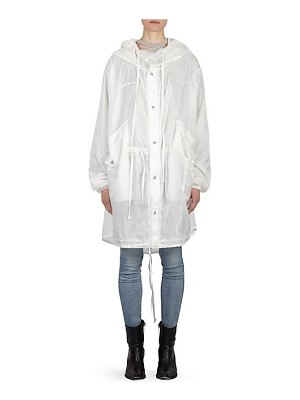 Ben Taverniti Unravel Project tour ghost hooded parka