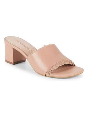 Bernardo Fringe Leather Sandals