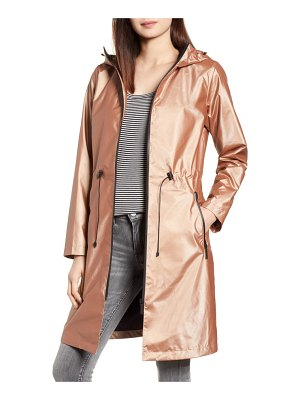 Bernardo metallic rain jacket