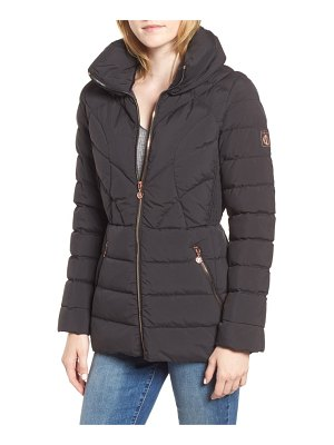 Bernardo microtouch pillow down & feather fill jacket
