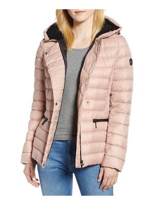 Bernardo sporty hooded puffer jacket