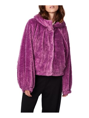 BERNIE forever young fleece hooded jacket
