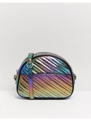 Bershka metallic cross body bag