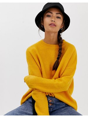 Bershka oversized crew neck sweater