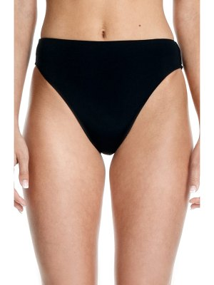 Beth Richards heather high waist bikini bottoms