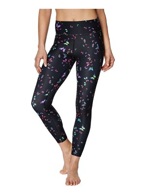 Betsey Johnson Performance Butterfly Printed Leggings
