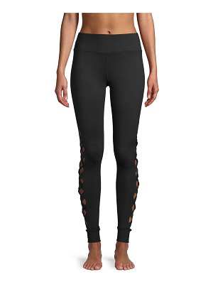 Betsey Johnson Performance Classic Cut-Out Leggings