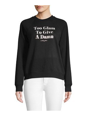 Betsey Johnson Performance Graphic Raglan-Sleeve Sweatshirt