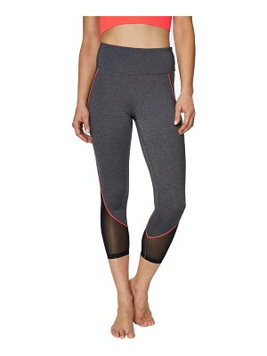 Betsey Johnson Performance High-Rise Cropped Leggings