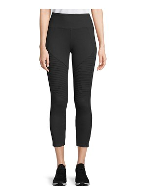 Betsey Johnson Performance Mesh Back Insert Leggings