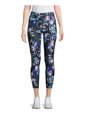 Betsey Johnson Performance Printed Mesh Leggings
