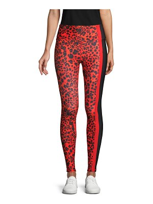 Betsey Johnson Performance Wild-Print Ankle-Length Leggings