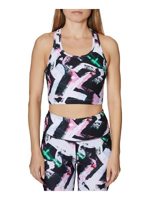 Betsey Johnson Performance Printed Sports Bra