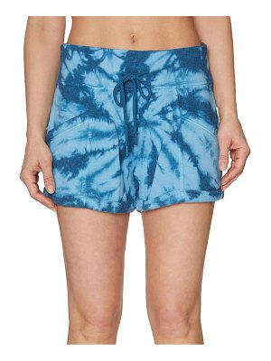 Betsey Johnson Tie-Dyed Cotton-Blend Shorts