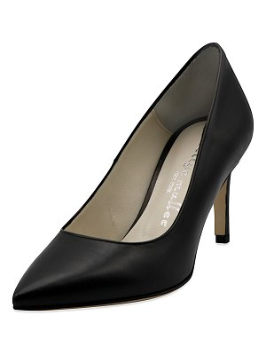 Bettye Muller Agatha Smooth Pointed Pumps