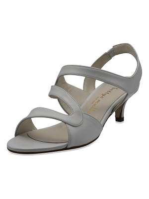 Bettye Muller Sandy Strappy Leather Sandals