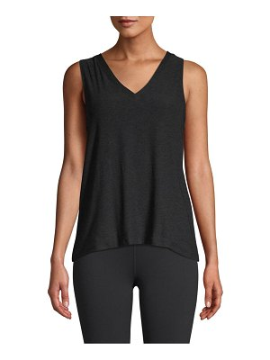 Beyond Yoga about it split-back tank top