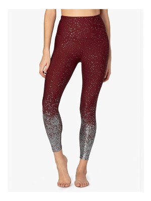 Beyond Yoga Alloy Ombre High-Waist Midi Legging