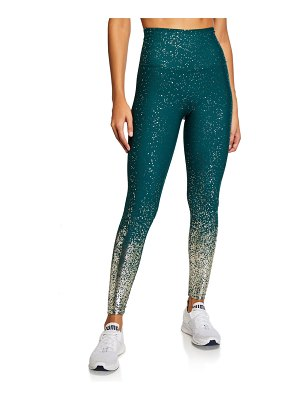 Beyond Yoga Alloy Ombre High-Waist Midi Leggings