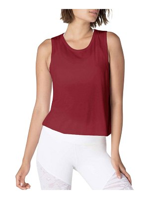 Beyond Yoga Aquarius Twisted Open-Back Tank