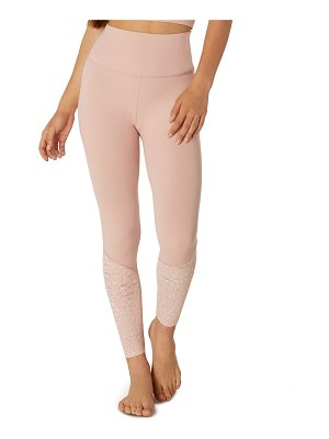 Beyond Yoga Back Me Up High-Waist Midi Leggings