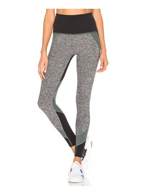 Beyond Yoga Colorblocked High Waisted Long Legging