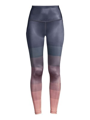 Beyond Yoga engineered lux high-rise leggings