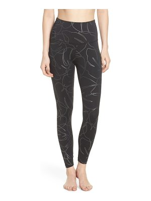 Beyond Yoga flashback high waist midi leggings