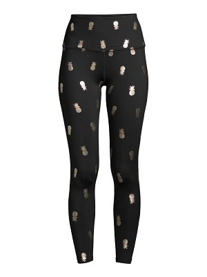 Beyond Yoga high-rise printed pineapple leggings