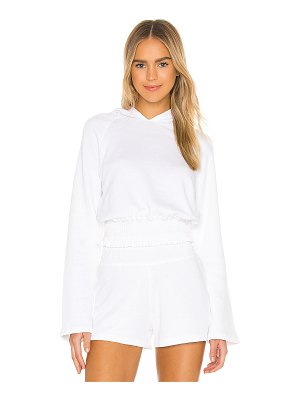 Beyond Yoga let's smock about it hoodie