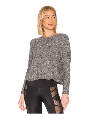 Beyond Yoga Morning Lightweight Cropped Pullover