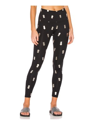 Beyond Yoga Pineapple High Waisted Midi Legging