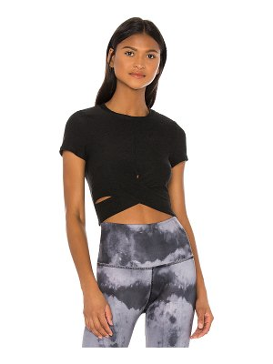 Beyond Yoga spacedye under over cropped top