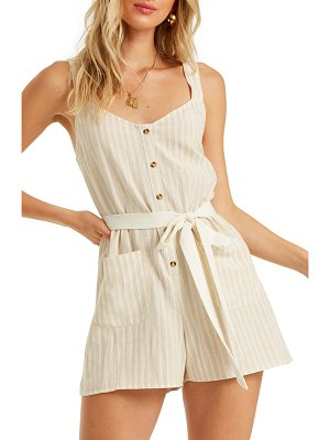 Billabong all happening belted romper