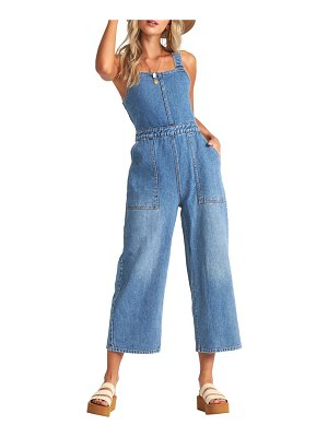 Billabong ball in denim jumpsuit
