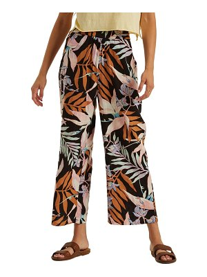 Billabong cut it wide leg crop pants