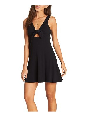 Billabong hola holiday cutout minidress